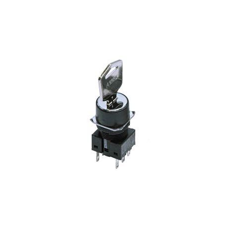 Interrupteur de sélection à clé avec ouverture de montage de 16 mm omron maroc