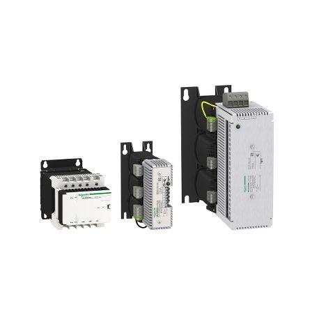 Alimentations redressées et filtrées pour réseau 230 à 400 V CA délivrant une puissance de 12 à 1440 W. schneider electric maroc